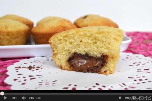 Video ricetta muffin alla Nutella