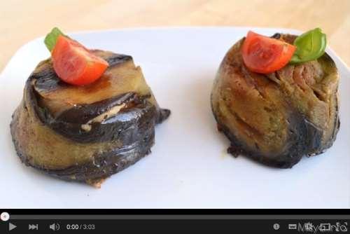 Video ricetta timballini di pasta alle melanzane