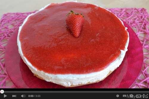 Video ricetta torta fredda allo yogurt
