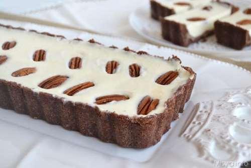 Ricette Crostate Crostata al cioccolato bianco