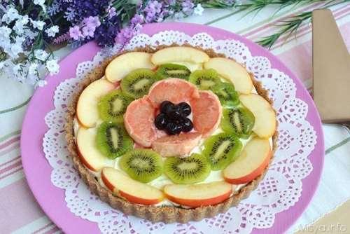 Crostate ricette Crostata alla frutta senza cottura
