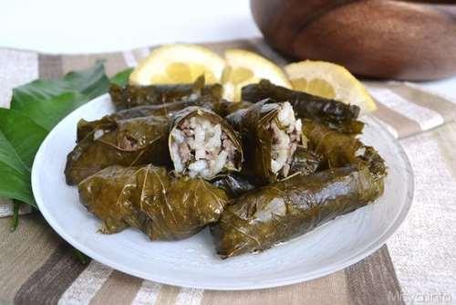 greche ricette Dolmades