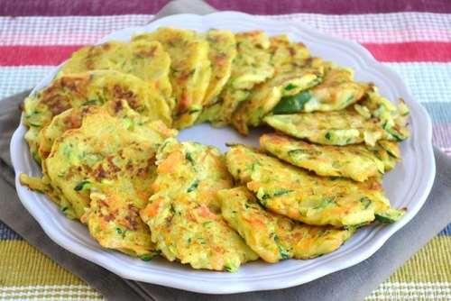 Ricette ricette Frittelle di verdure