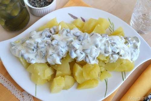 Insalata di patate allo yogurt
