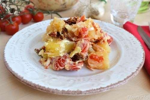 Insalate ricette Insalata di patate svedese