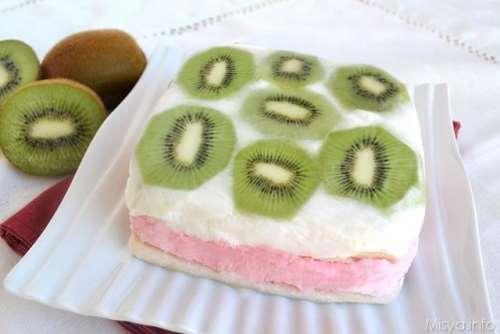 Dolci ricette Torta gelato alla frutta