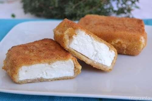 greche ricette Feta fritta