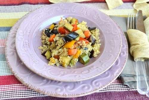 ricette Quinoa con verdure