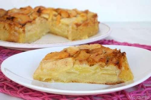 Ricette In rilievo Torta di mele cremosa