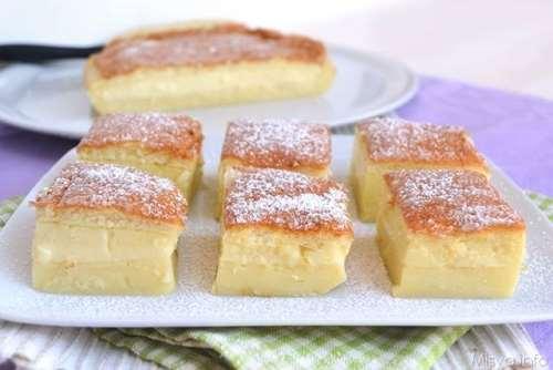 Ricette Dolci Torta magica bimby