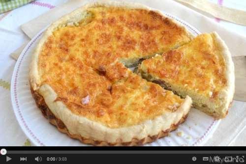 Video ricetta Quiche Lorraine