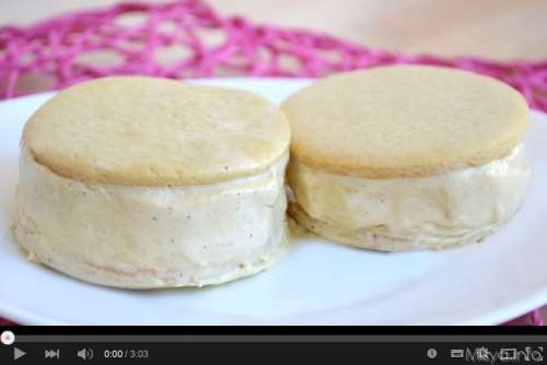 Video ricetta biscotto gelato