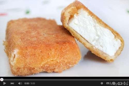 Antipasti ricette Video ricetta feta fritta