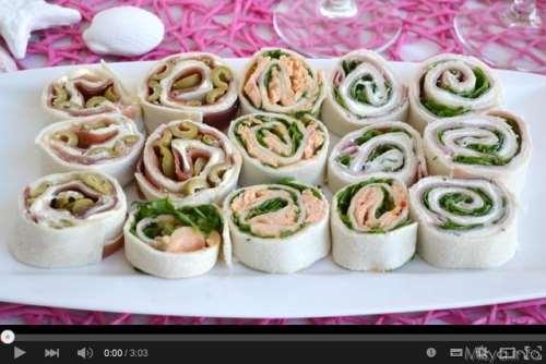 Antipasti ricette Video ricetta girelle fredde farcite