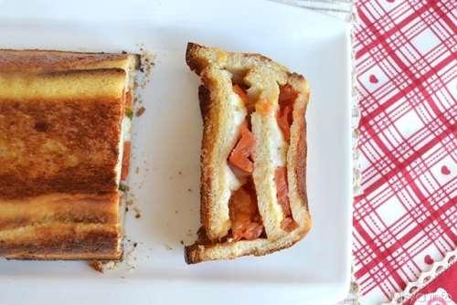 Ricette  Cake di pane e mozzarella