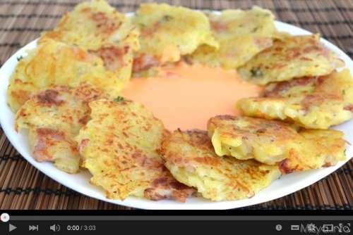 Antipasti ricette Video ricetta frittelle di patate