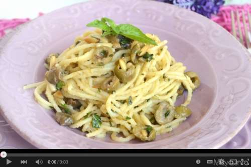 primi piatti ricette Video ricetta degli spaghetti alle erbe