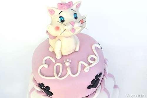 Torte di compleanno ricette Torta di Marie Aristogatti