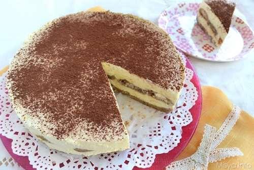Ricette Cheesecake freddo Cheesecake tiramisù