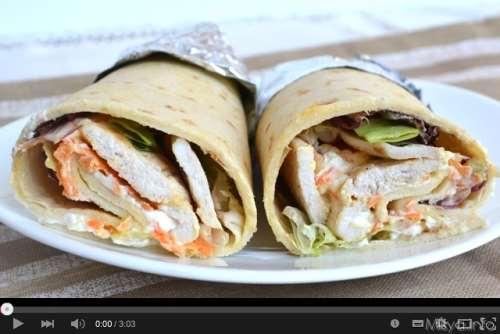 Secondi piatti ricette Video ricetta chicken rolls