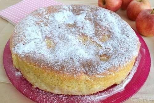 Ricette Torte Torta di mele senza burro