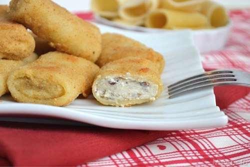 ricette Paccheri fritti