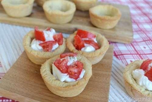 Finger food ricette Tartellette di pasta frolla