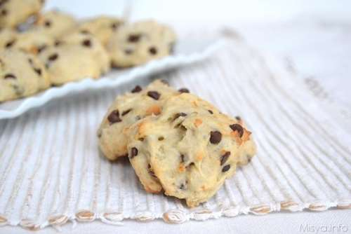 Biscotti ricette Biscotti banana e cioccolato