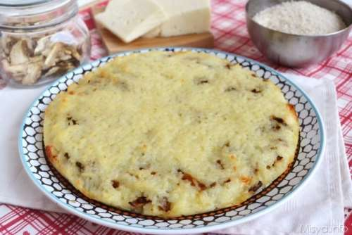 Riso ricette Pizza di riso