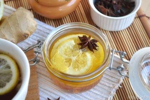 Tisana miele limone e zenzero