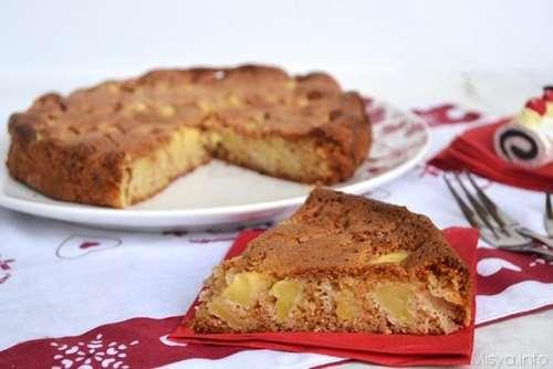 ricette Torta di mele integrale