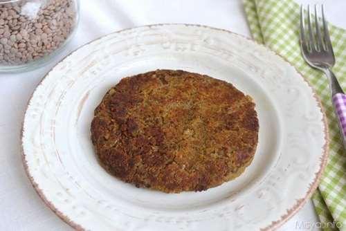 Ricette Secondi piatti Hamburger di lenticchie