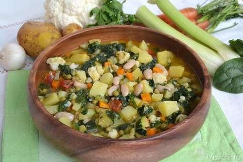 Ricette  Minestrone di verdure