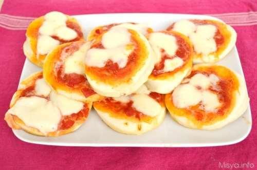 Rustici ricette Pizzette del bar bimby