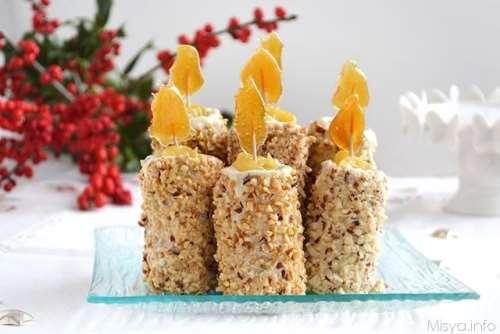 Ricette Biscotti Candele dolci di Natale