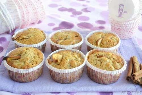 Muffin ricette Muffin mele e cannella