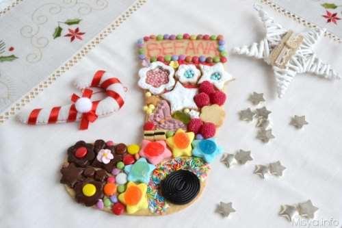 Dolci di Natale ricette Calza biscotto