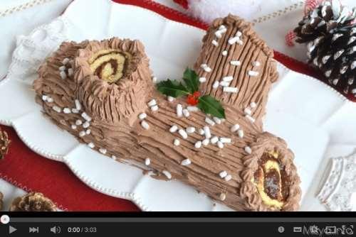 Videoricette ricette Video ricetta tronchetto di Natale