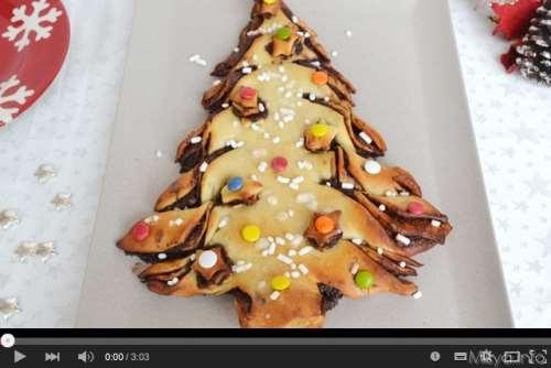Video ricetta albero di pan brioche