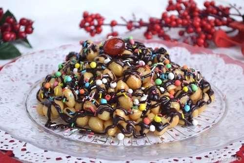 ricette Struffoli al cioccolato