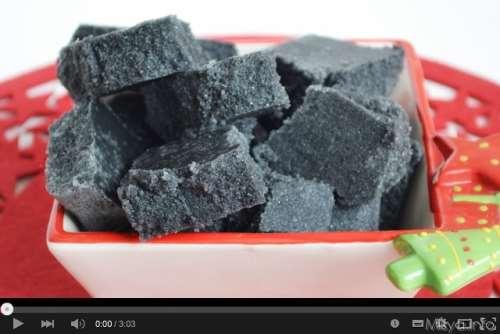 video ricetta carbone  della  befana