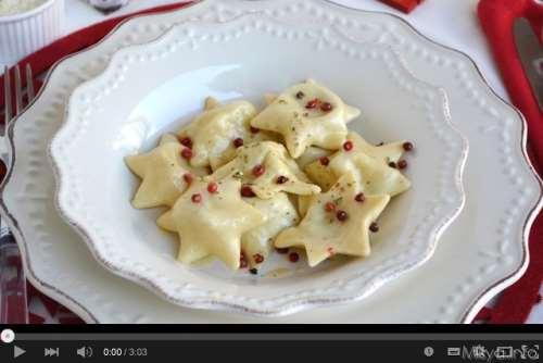 Video ricetta ravioli a stella
