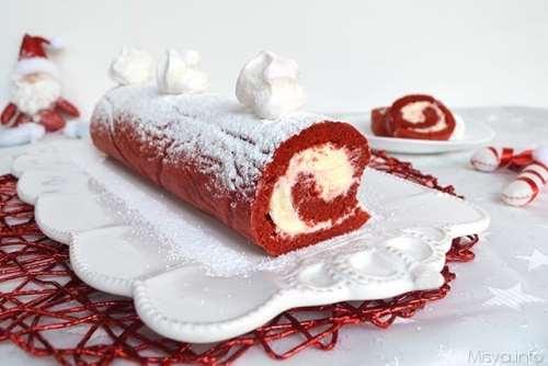 Ricette  Rotolo red velvet