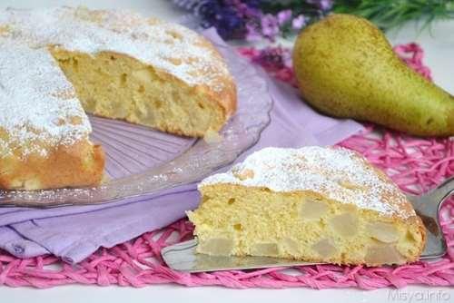 Torte ricette Torta di pere