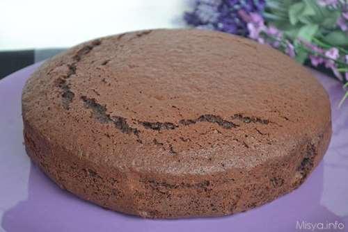 Torta paradiso al cacao