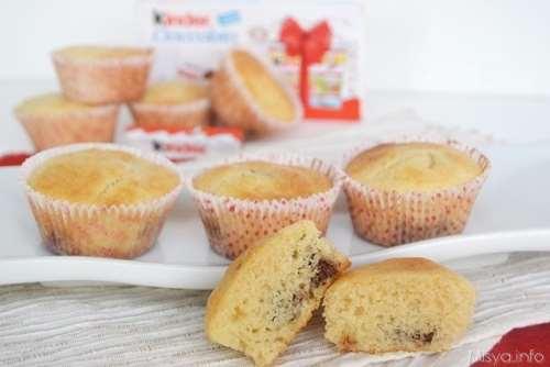 Ricette Muffin Muffin al cioccolato Kinder