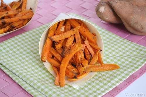 ricette Stick di patate dolci