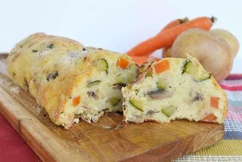 Ricette Secondi piatti Polpettone di verdure