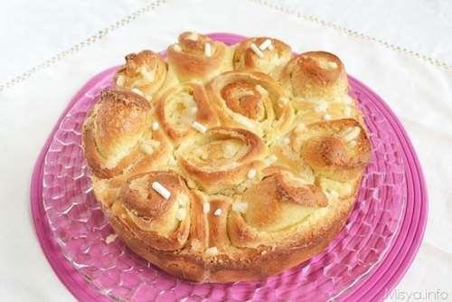 Dolci ricette Torta delle Rose bimby