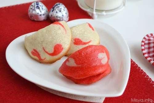 Ricette Biscotti Biscotti della fortuna di San Valentino